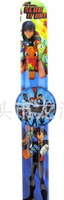 stocking hot new Free shipping DHL250pcs/lot love SLUGTERRA cartoon  clap watches,children watch,best gift to children