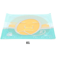 Collagen Face Mask Face Care Anti Aging 2pcs/lot Q10 Collagen Crystal Facial Mask  Moisturizing