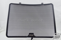 For YAMAHA R6 08 09 10 11 12 13 14 Black Aluminum Radiator Guard Oil Cover
