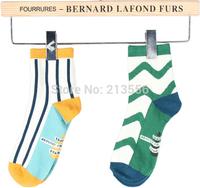 10pcs=5pairs 2014 autumn and winter fashion women cotton socks cartoon socks free shipping