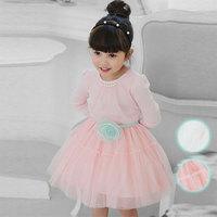 Free shipping -5pieces/lot -2015 Spring Korean girls cotton gauze dress - princess tutu dress