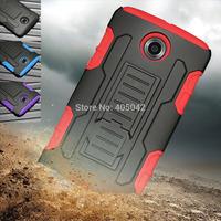 4in1 For Google Motorola Nexus 6 XT1100 Hybrid Future Armor Impact Hard Case Cover+Holster+FILM+STYLUS Belt Clip Free shipping