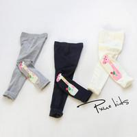 Children's Leggings Wholesale 2015 New Cute Cartoons giraffe embroidery Cotton Soft comfortable Girl's Fashion Leggings