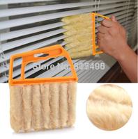 Vertical Window Blinds Brush Cleaner Mini 7 Shape Hand Held Magic Brush Novelty Households