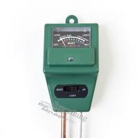 New Arrival 3 in 1 Garden Plant Flower PH Tester Water Moisture Soil Light Test Meter Wholesale