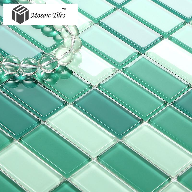 Badkamer Accessoires Oss ~ aankomst 2015 helder glas groen vloertegels goedkope badkamer muur