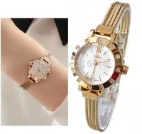 Women Watches Stainless Steel Bracelet Wristwatches JULIUS Round Fashion Roman Scale Rhinestone Clock Women Watch 2014 JA-715