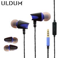 ULDUM In-ear Stereo Music mobile headphones and wired earphones