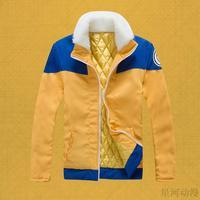 cosplay anime costume Uzumaki  naruto Winter thickened Clothes