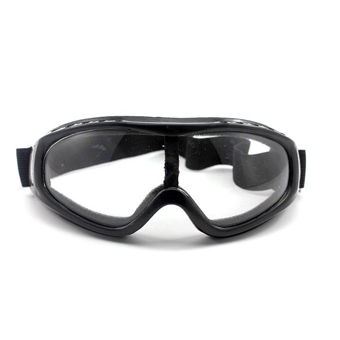 Anti Fog Clear Motorcycle Biker Glasses Windproof Flexible Band Eye Wear Goggles(China (Mainland))