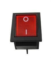 Precision Fine 5PCS Red Light On/off Rocker Switch 250V 15 AMP 125/20A