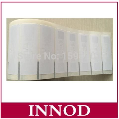Alien H3 75x30mm UHF tag RFID Adhesive Tag 9662 inlay RFID Label / smart tags rfid uhf tag RFID Sticker Logistics assets(China (Mainland))