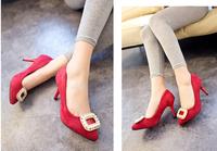 Best selling  sexy pearl Set auger OL pumps fashion Party platform high heels shoes ladies pumps woman shoes