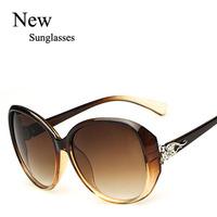 Wholesale 2015 Trendy Multi Colors Cheap Sunglasses New Style Women Ladys Leisure Sunglasses Free shipping
