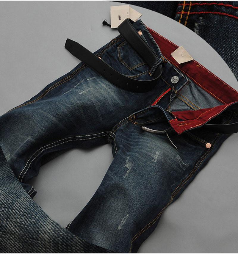 2015new мужчины хлопок узкие черный джинсы дизайнер деним байкер толстый джинсы брюки брюки вакерос хомбре