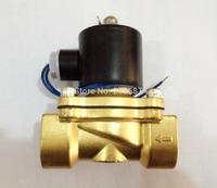 """2way2position 110VAC 1"""" Electric Solenoid Valve Water Air N/C Gas Water Air BSP"""