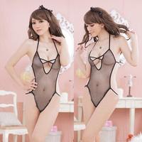 Women Sexy Lingerie Lace Nightwear Underwear Sleepwear Babydoll G-String Teddy Jumpsuits Women Bodysuit Freeshipping
