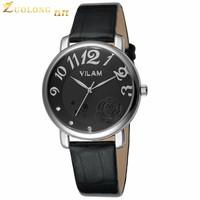 New Fashion AD Watch Wristwatches Girl Ladies Clover leather Watch Quartz Leisure Sport Watch for Women Men Lover rose