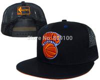 High Quality black multi basketball teams snapbacks caps mesh cap