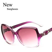 Wholesale 2015 Trendy Colorful Cheap Sunglasses New Style Women Ladys Leisure Eyewear Free shipping