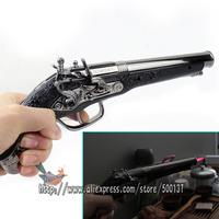 New with stand holder! Big Size HONHEH Hot Pink Flame Cigar Cigarette Windproof Butane Gas Metal Pistol Gun Lighter