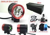 3800 Lumen Bicycle light bike led light 3x CREE XML-T6 LED Bicycle Light LED Light Headlight Headlamp Camp
