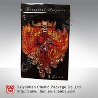 On sale!!! Aluminum foil 7H botanical potpourri ziplock bag