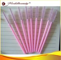 Free shipping 200pcs per lot make up brush,pink brush,eyelash extensions brush