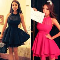 Wholesale 2014 New Fashion Bandage Runway Dress Mint Maxi Lolita Women sexy Cute Lace Dresses Peplum Party Free Shipping B-2083