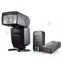 Yongnuo YN-568EX II TTL High Speed Flash Speedlite+2* YN-622C Wireless E-TTL Flash Trigger for Canon 5D2 5D3 6D 7D 60D 70D 700D