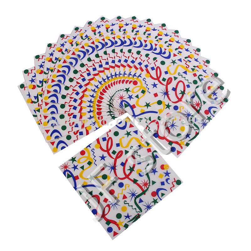 Multicolour print table napkin paper tissue facial tissue paper towel(China (Mainland))