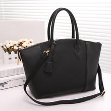Free shipping ! 2014 new imported PU embossed smiley bag handbag handbag new winter(China (Mainland))