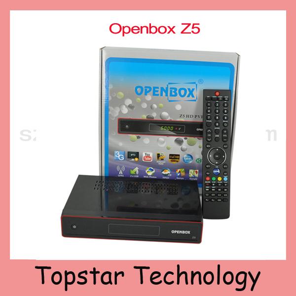 2015 Original Openbox Z5 Satellite TV Receiver Openbox X5 Chinese Language Youtube Google Maps Weather CCcam Newcam IPTV DLNA(China (Mainland))
