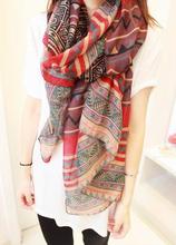 CB C211 170*80CM Hot Sell women geometric fashion scarf designer South Korea Stain scarves Cheap Silk scarf(China (Mainland))
