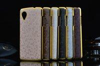 6 color Luxury Business Style Diamond printing Chromed Edge Hard Case for LG Google Nexus 5 Mobile phone Case