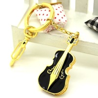Crystal Violin Creative Gift Jewelry Usb Flash Drive Guitar Pendrive 64GB Pen Drive 32GB Pen Driver 16GB 8GB Memoria Stick Gifts