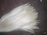 1 hank High Quality White Violin Bow Hair 6 grams/hank 32 inches
