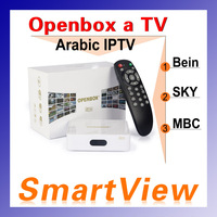 Arabic IPTV Box Openbox aTV Box Android Media Player for Arabic Turkey UK Support Bein Sky sports MBC more than 600+ Channels