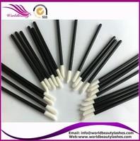Free shipping 200pcs per lot make up brush,eyelash extensions white brush