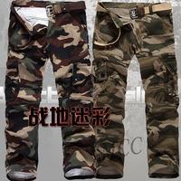 New men loose casual camo pants 532