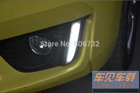for Honda Fit Jazz 2014 2015 LED DRL Daytime Driving Running Fog light Lamp