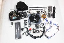 F03813-B Platypus X800-V6 Carbon Fiber Hexacopter Frame Kit +KK V2.3 Circuit board+1000KV Motor+30A ESC+1045 Propeller+TX&RX(China (Mainland))