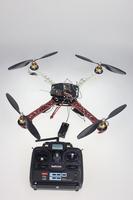 F02113-D JMT Tarot SK450 RC Drone ARF Upgrade Kit: Frame + QQ Super 4 Axis Control + Carbon Pros + ESC + Motor + 7CH TX RX