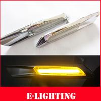 Free Shipping E81 E82 E87 E88 E90 E91 E92 E60 E61 F10 LED Side Marker light for BMW Fender Turn signal Lamp