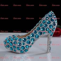 2015 Hot Sale Rhinestone Custom Crystal New Sexy Fashion Pump Shoes For Women Spring Red Women 11 Fashion Pump Black Heels Shoes