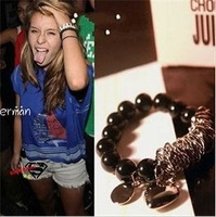 Fashion Jewelry Hot Sliver Beads Heart Trendy Charm Bracelet & Bangle For Woman 2015 New Gift SALE