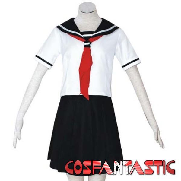 Лето школа форма ад девочка ай енма косплей-костюмы(China (Mainland))