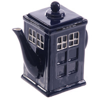 Free Shipping 1Piece Doctor Who TARDIS Teapot | A Spot Of Tea With The Doctor