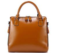 NO.1 NEW 2015 Women Genuine Leather Handbags Luxury Famous Brand Handbag European Women Hand bags OL Women Messenger bags HN07