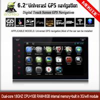 Android 4.2.2 System Car Dvd GPS Navigation 2din+Car Audio radio player Universal 1.6 GHZ CPU 1GB RAM 8GB ROM+multiligual menu